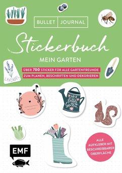 Bullet Journal - Stickerbuch Mein Garten: Über 700 Sticker für alle Gartenfreunde zum Planen, Beschriften und Dekorieren