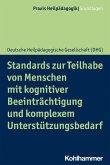 Standards zur Teilhabe von Menschen mit kognitiver Beeinträchtigung und komplexem Unterstützungsbedarf