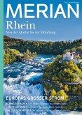 MERIAN Magazin Der Rhein 06/21