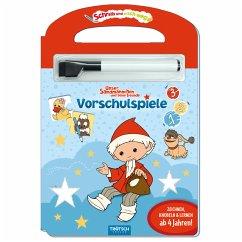 Trötsch Unser kleines Sandmännchen Schreib und wisch weg Vorschulspiele Sandmann Pappenbuch