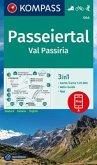 KOMPASS Wanderkarte Passeiertal, Val Passiria