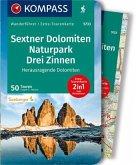 KOMPASS Wanderführer WF 5733 Sextner Dolomiten, Naturpark Drei Zinnen