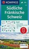 KOMPASS Wanderkarte Südliche Fränkische Schweiz