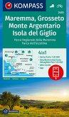 KOMPASS Wanderkarte Maremma, Grosseto, Monte Argentario, Isola del Giglio
