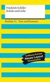 Kabale und Liebe. Textausgabe mit Kommentar und Materialien