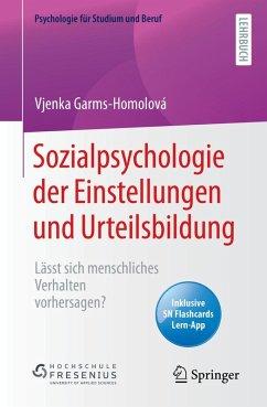 Sozialpsychologie der Einstellungen und Urteilsbildung (eBook, PDF) - Garms-Homolová, Vjenka