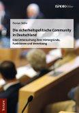 Die sicherheitspolitische Community in Deutschland