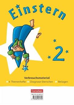Einstern Mathematik 02. Themenhefte 1-4. Diagnoseheft und Kartonbeilagen im Paket
