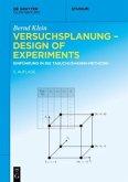 Versuchsplanung - Design of Experiments