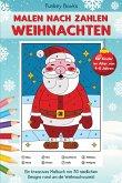 Malen nach Zahlen Weihnachten für Kinder im Alter von 4 bis 8 Jahren