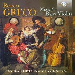 Greco:Music For Bass Violin - Diverse