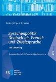 Sprachenpolitik Deutsch als Fremd- und Zweitsprache