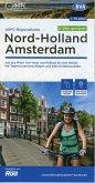 ADFC-Regionalkarte Nord-Holland Amsterdam 1:75.000, reiß- und wetterfest, GPS-Tracks Download - E-Bike geeignet