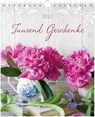 Tausend Geschenke 2022 - Postkartenkalender