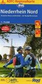 ADFC-Regionalkarte Niederrhein Nord mit Tagestouren-Vorschlägen, 1:75.000, reiß- und wetterfest, GPS-Tracks Download