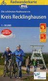 Radwanderkarte BVA Die schönsten Radtouren im Kreis Recklinghausen, 1:50.000, reiß- und wetterfest, GPS-Tracks Download
