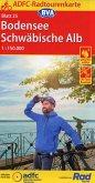 ADFC-Radtourenkarte 25 Bodensee Schwäbische Alb 1:150.000, reiß- und wetterfest, GPS-Tracks Download