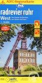 ADFC-Regionalkarte radrevier.ruhr West, 1:50.000, reiß- und wetterfest, GPS-Tracks Download