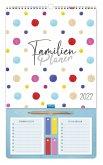 Trötsch Familienkalender Familienplaner mit Stift 2022