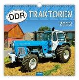 """Technikkalender """"DDR-Traktoren"""" 2022"""