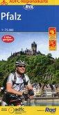 ADFC-Regionalkarte Pfalz, 1:75.000, reiß- und wetterfest, GPS-Tracks Download