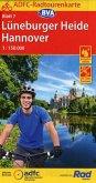ADFC-Radtourenkarte 7 Lüneburger Heide /Hannover 1:150.000, reiß- und wetterfest, GPS-Tracks Download