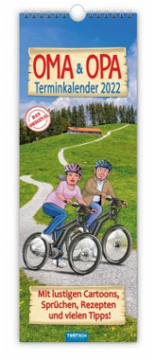 Familienkalender Oma & Opa 2022