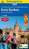 Radwanderkarte BVA Die schönsten Radtouren in der Radregion Münsterland - Kreis Borken, 1:50.000, reiß- und wetterfest,
