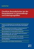 Checkliste Besonderheiten bei der Gewerbesteuer in Umwandlungs- und Einbringungsfällen (eBook, PDF)