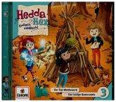 Hedda Hex - Der Tipi-Wettbewerb / Das lustige Bootsrodeln, 1 Audio-CD