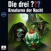 Kreaturen der Nacht / Die drei Fragezeichen - Hörbuch Bd.209 (1 Audio-CD)