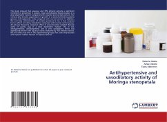 Antihypertensive and vasodilatory activity of Moringa stenopetala
