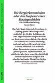 Die Bergier-Kommission oder das Gespenst einer Staatsgeschichte