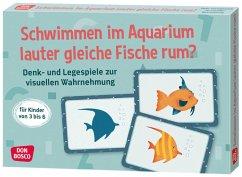 Schwimmen im Aquarium lauter gleiche Fische rum? - Gully, Angela