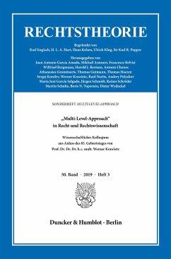 »Multi-Level-Approach« in Recht und Rechtswissenschaft.