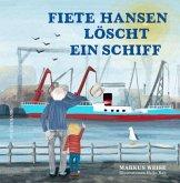Fiete Hansen löscht ein Schiff