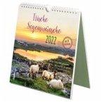 Irische Segenswünsche 2022. Der Postkarten-Kalender