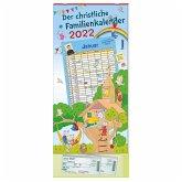 Der christliche Familienkalender 2022 mit 6 Spalten