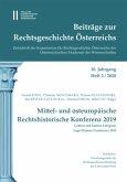 BEITRÄGE ZUR RECHTSGESCHICHTE ÖSTERREICHS. 10. 2/2020