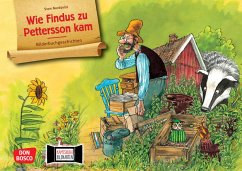 Wie Findus zu Pettersson kam. Kamishibai Bildkartenset. - Nordqvist, Sven