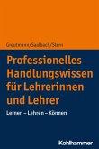 Professionelles Handlungswissen für Lehrerinnen und Lehrer (eBook, PDF)