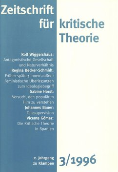 Zeitschrift für kritische Theorie / Zeitschrift für kritische Theorie, Heft 3 (eBook, PDF)