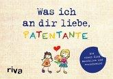 Was ich an dir liebe, Patentante - Version für Kinder