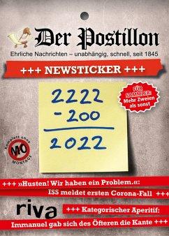 Der Postillon +++ Newsticker +++ 2022 - Sichermann, Stefan