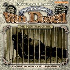 Professor van Dusen, Folge 25: Professor van Dusen und der Zirkusmörder (MP3-Download) - Koser, Michael