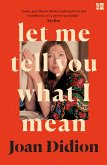 Let Me Tell You What I Mean (eBook, ePUB)