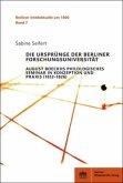 Die Ursprünge der Berliner Forschungsuniversität