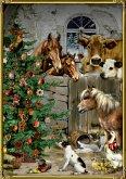A4-Wandkalender - Weihnacht im Stall