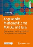 Angewandte Mathematik 2 mit MATLAB und Julia (eBook, PDF)