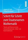 Schritt für Schritt zum Staatsexamen Mathematik